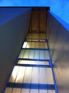 Treppenhausfassade